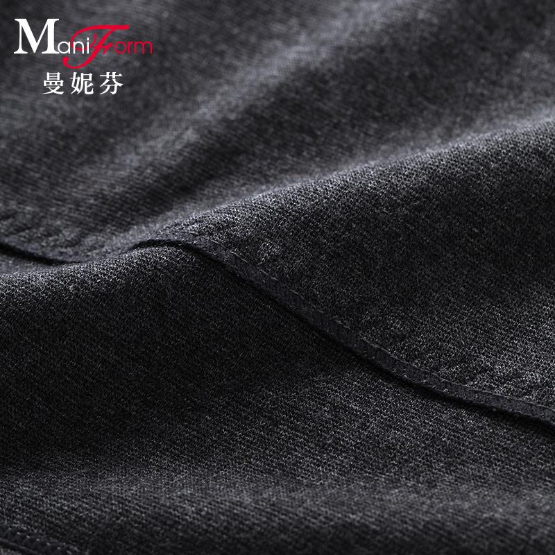 度以下 5 曼妮芬本命年保暖内衣双层舒适色拉姆打底衣