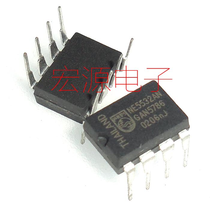 NE5532N NE5532AN 音频运算放大器 双运放 现货可直拍