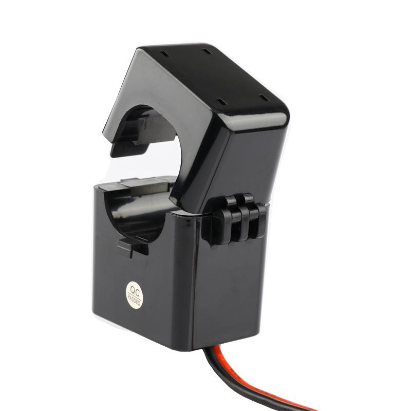 电流交流互感器开口式开合式 卡扣100a/5a200 300 400/5电表计量