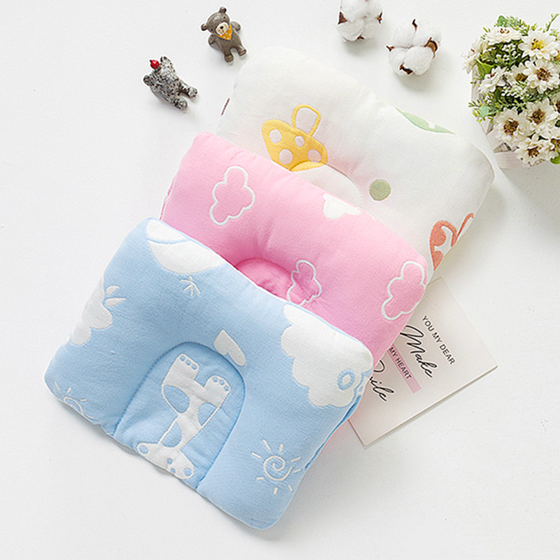 新生婴儿童定型枕0宝宝纠正头型2小孩矫正防偏头枕头3四季通用1岁