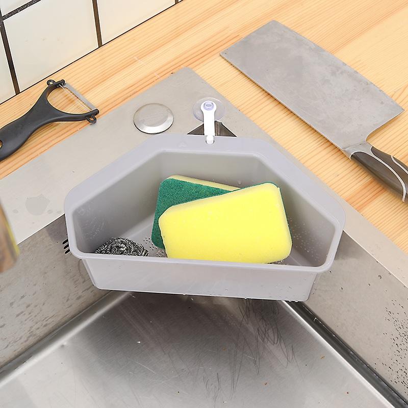 厨房水槽三角沥水篮