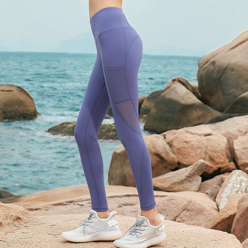 北旎高腰收腹弹力运动紧身裤瑜伽裤健身裤