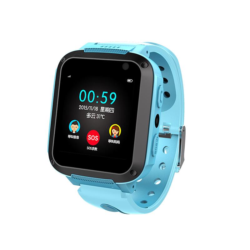 儿童电话手表智能gps定位多功能手机学生防水可爱男女孩小孩子天才拍照触摸屏通话运动手环