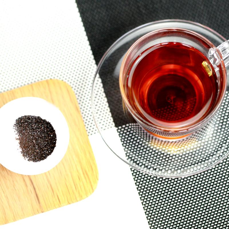 町花雨云南普洱茶膏陈年熟茶膏 普洱茶珍浓缩速溶茶粉送礼盒装