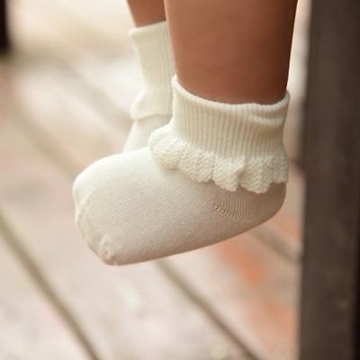 新生兒襪子秋冬嬰兒純棉男女寶寶棉襪嬰幼兒0-3-6-12個月兒童短襪