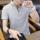 纯棉夏季短袖t恤男士潮流纯色polo衫青少年休闲半袖男装打底衫男 mini 2