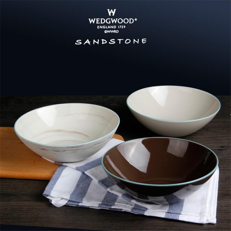 英國皇家威基伍德WEDGWOOD  麵碗 沙拉碗 創意陶瓷湯碗【有LOGO】