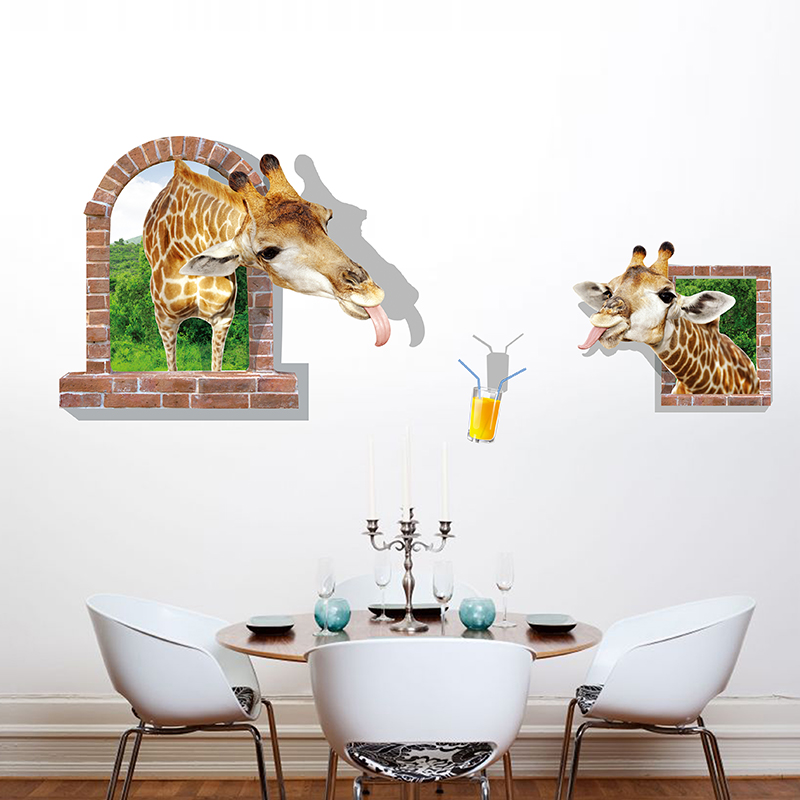 buy 3d stereoscopic wall stickers wallpaper adhesive wallpaper
