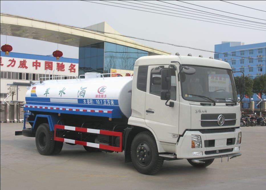 东风天锦洒水车 国五中型喷洒园林绿化车程力牌厂家直销