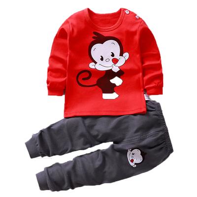 时尚卡通童装儿童内衣套装宝宝秋衣秋裤男童女童睡衣舒适婴儿衣服