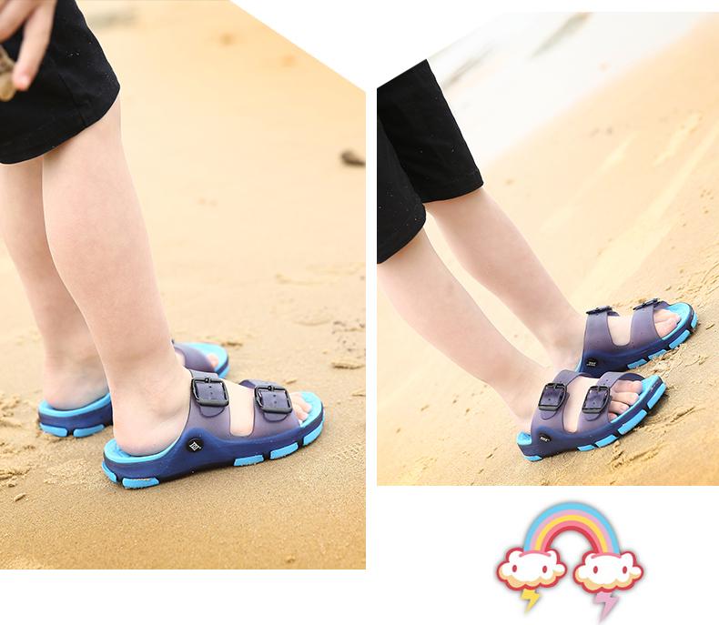 儿童拖鞋夏男童拖鞋女童凉拖鞋宝宝居家浴室防滑亲子沙滩拖鞋大童主图