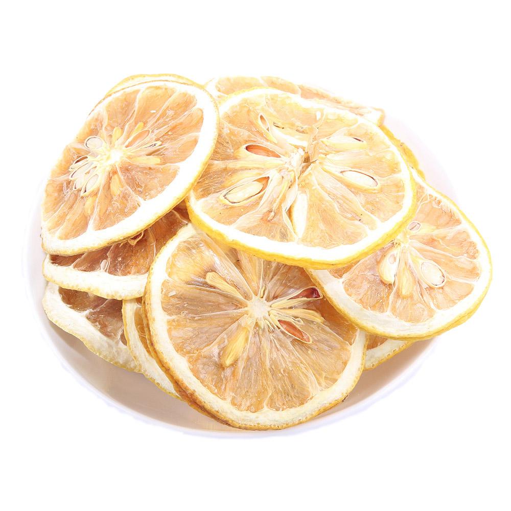 精选柠檬片500g包邮 泡茶干片泡水干柠檬片水果茶散装袋装花茶