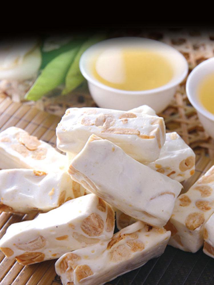 纯白色原味手工  牛轧糖雪花酥专用原料烘焙材料 diy 雅谷棉花糖 1000g