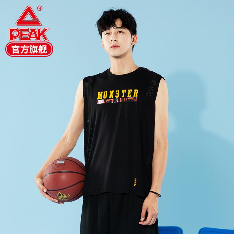 匹克运动背心男2020新款篮球文化运动T恤时尚潮流篮球服宽松背心