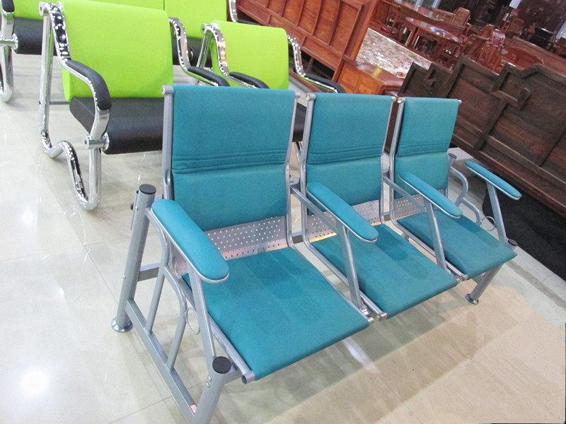 小扶手输液椅点滴椅 2人位3人位等候椅连排椅新款医院诊所候诊椅
