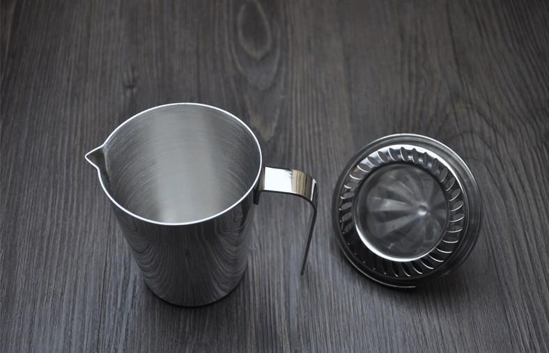 出口德国 304不锈钢手动榨汁器 榨汁机 果汁机 榨汁杯 果汁杯大号