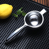Lemon squeezer orange juice machine manually pressed stainless steel lemon juice is squeezed juice is fruit cup home