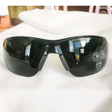 Anti-glare glasses, gas welding goggles, fire protection glasses, dark argon arc welding, brazing IR5, dark green, infrared