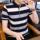 t恤男士短袖2021新款时尚潮流男装纯棉上衣服商务休闲polo衫体桖 mini 2