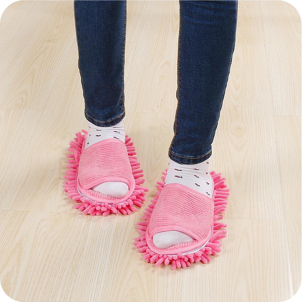 毛巾棉四季款擦地拖鞋懒人拖鞋超细纤维全粘底可拆洗拖地拖鞋包邮