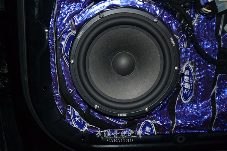 功放 DSP 汽车音响改装德国艾索特低音汽车喇叭德国麦仕 GLE350 奔驰