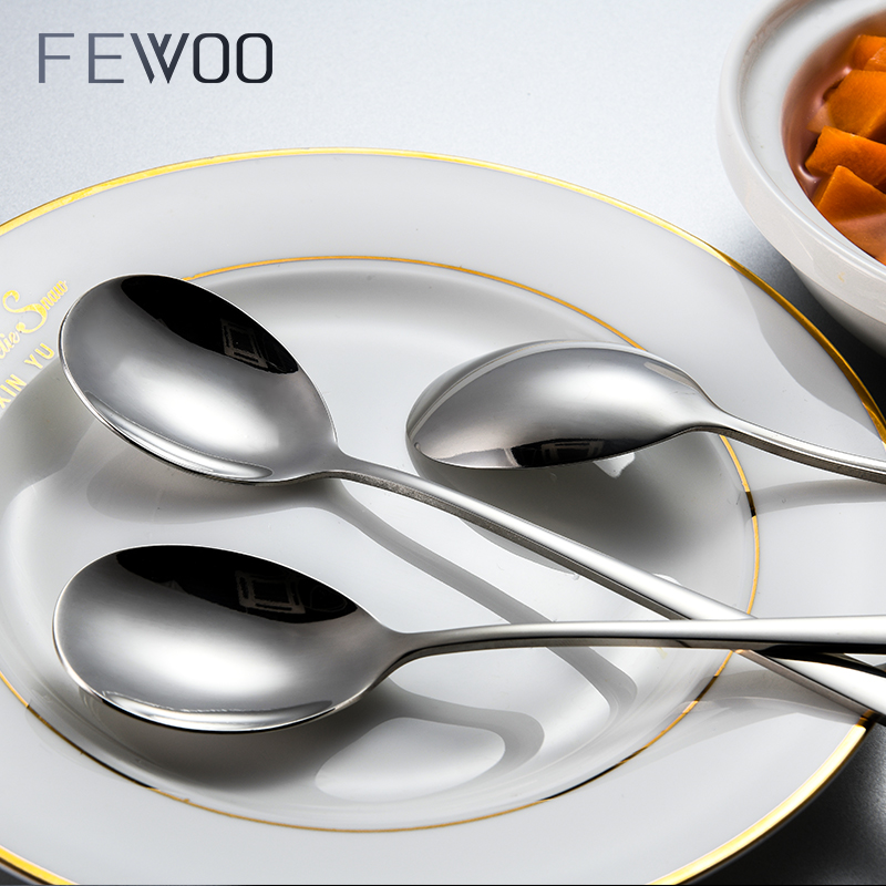 304不锈钢长柄搅拌勺小汤匙调料咖啡勺子加长创意冰勺韩式长柄勺【图2】