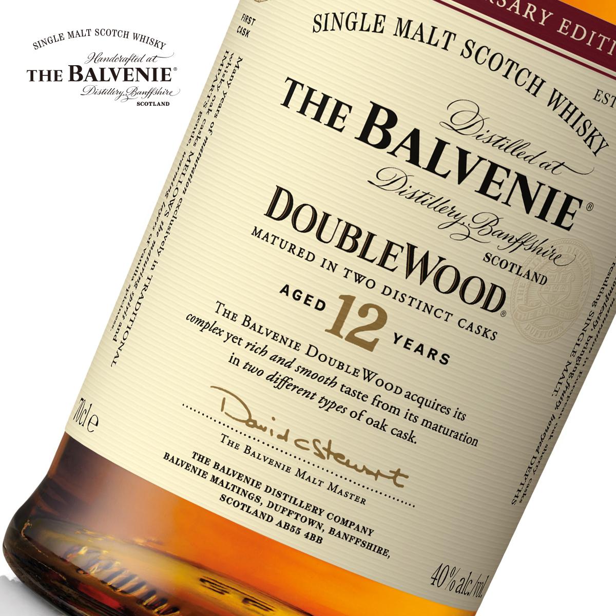 周年纪念版 25 年双桶陈酿单一纯麦威士忌 12 苏格兰百富 BALVENIE