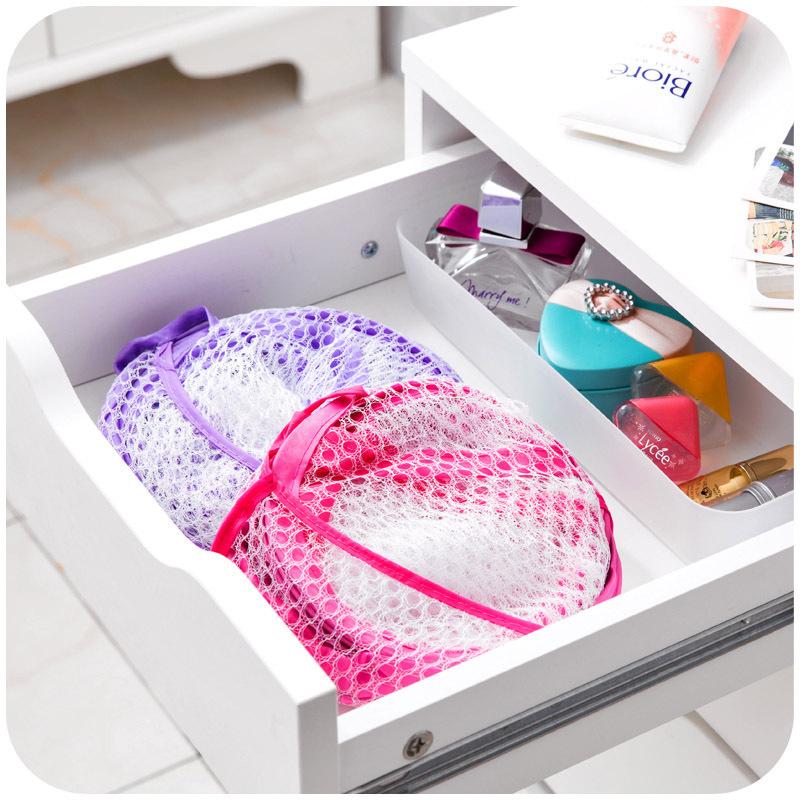 第二件半价/简约网布可折叠脏衣篓收纳洗衣服内衣杂物洗澡筐篮