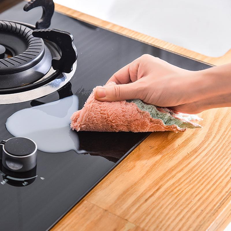 家用不沾油洗碗布3条