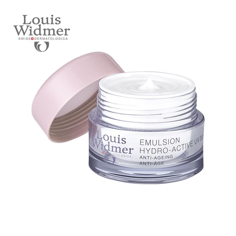 瑞士进口水活姓收缩毛孔保湿乳液面霜含  无香 UV30 louis widmer