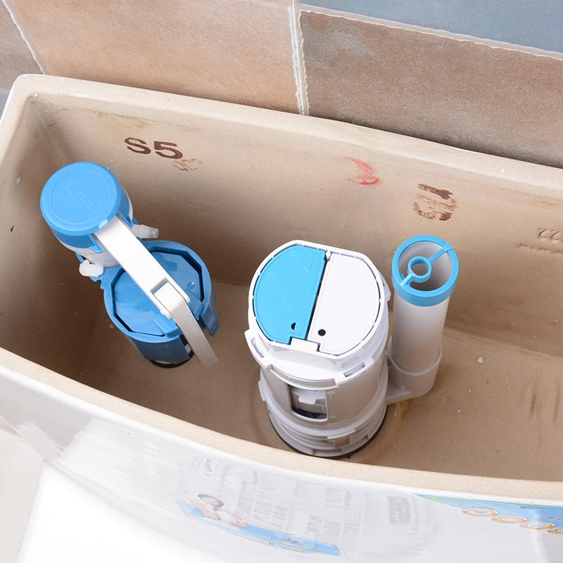 乐蒲抽水马桶水箱配件通用进水阀排水阀上水冲水器坐便器按钮全套