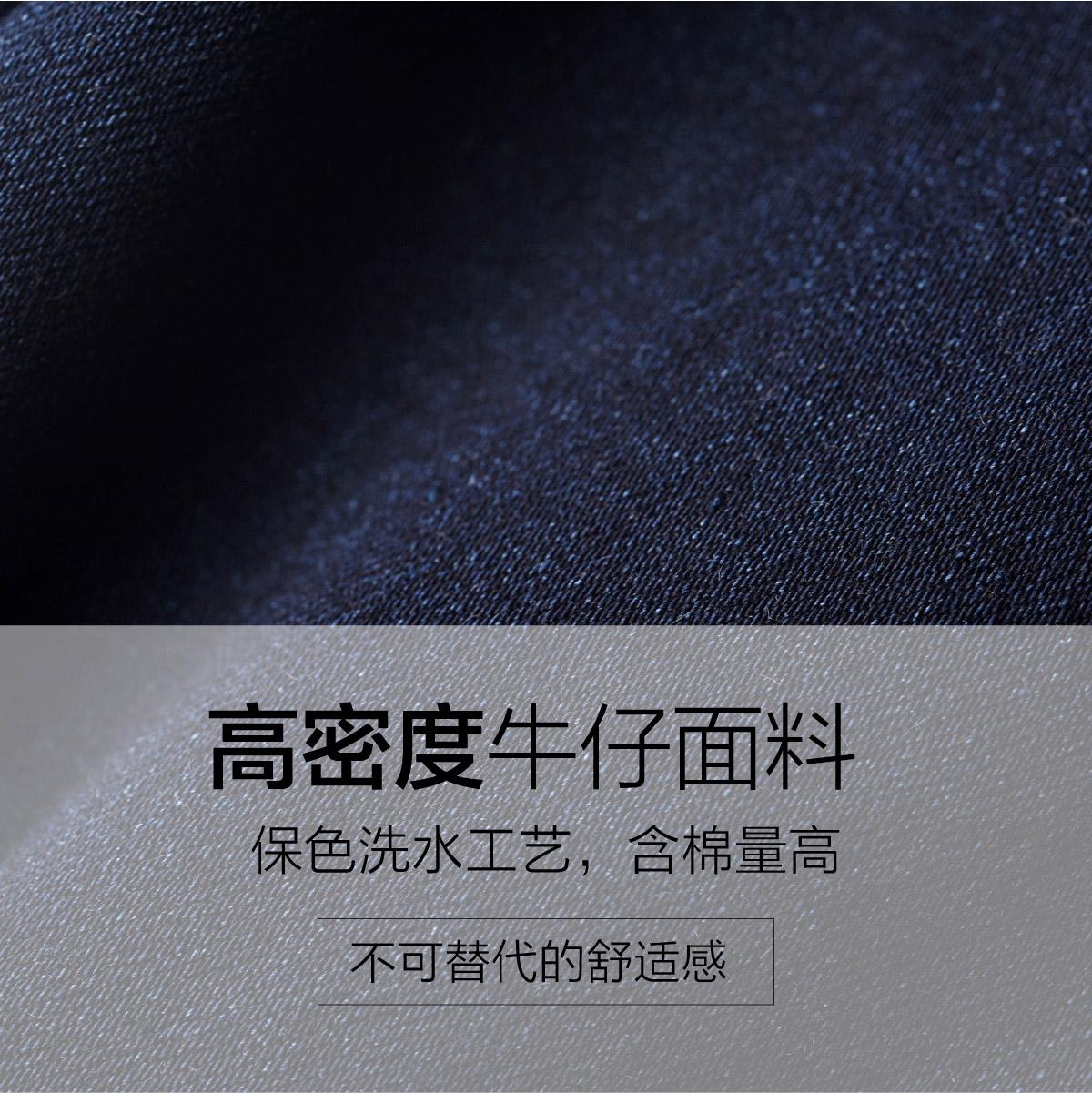 逸阳女裤2019春秋新款高腰牛仔裤女小脚修身铅笔裤大码黑色长裤子