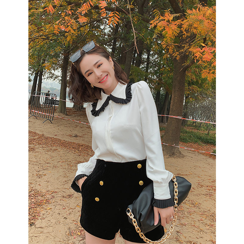 【三季可穿】大英子LOVE 2020秋冬新款女0QDC3434-花