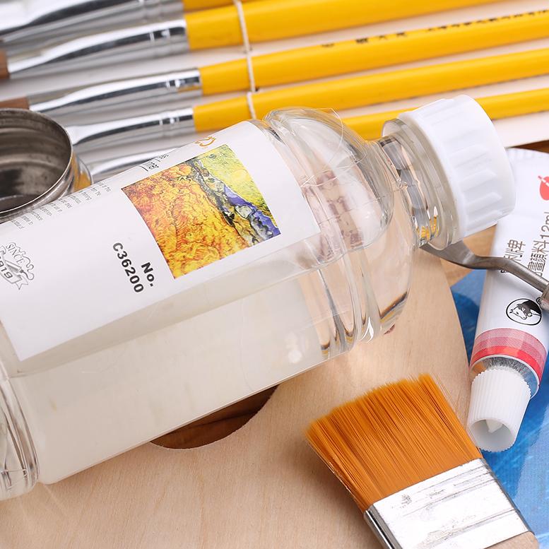 马利牌/无味油画稀释剂C36500 油画稀释剂/塑料瓶装 500ML 稀释剂