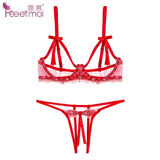 Sexy three-point tassel nipple stickers steel tolu full breasts bra fun bra blood drops chest stickers underwear bar
