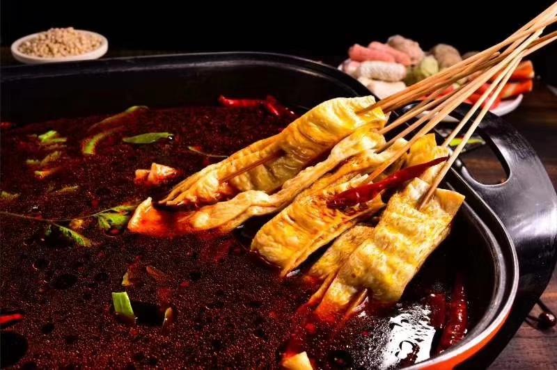 其它散装 500g 河南特产新品烤麸鱼骨面筋片麻辣烫凉菜干货食材包邮