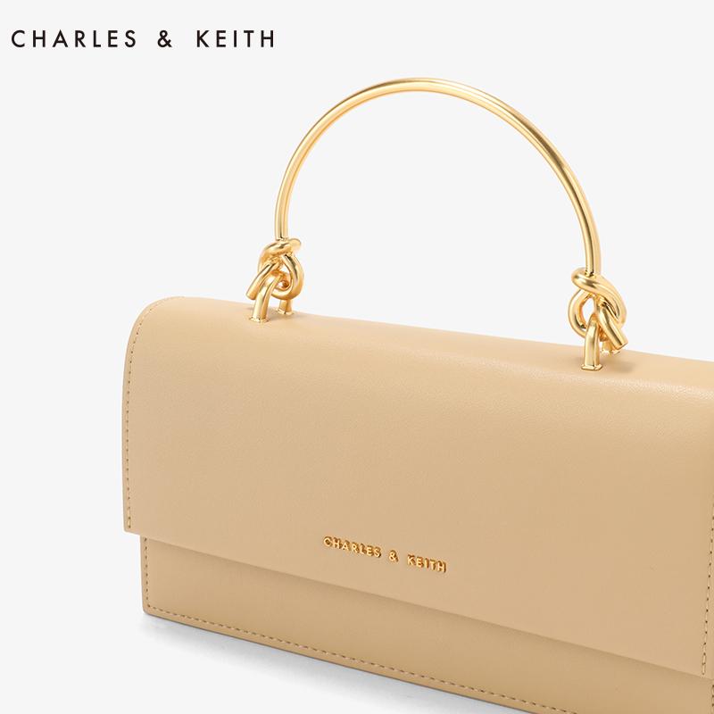 金属提把翻盖式钱包 10840136 CK6 新品长款钱包 KEITH & CHARLES