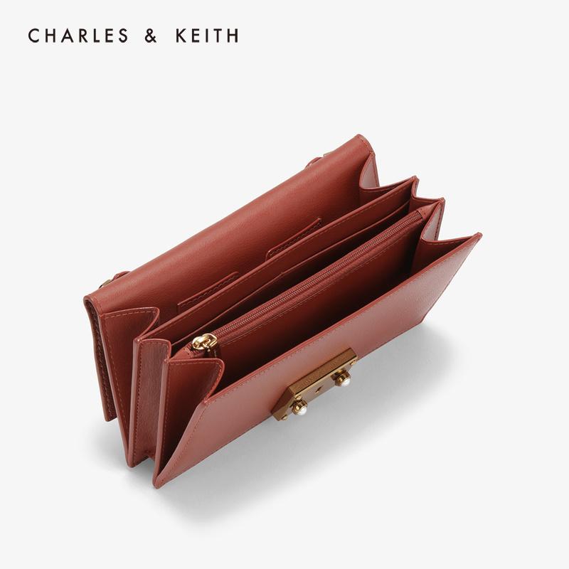 金属链条半宝石女士长款钱包 1 10840143 CK6 钱包 KEITH & CHARLES