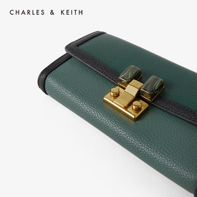 女士玛瑙扣饰单肩包钱包 10770429 CK6 春夏新品 KEITH2020 & CHARLES