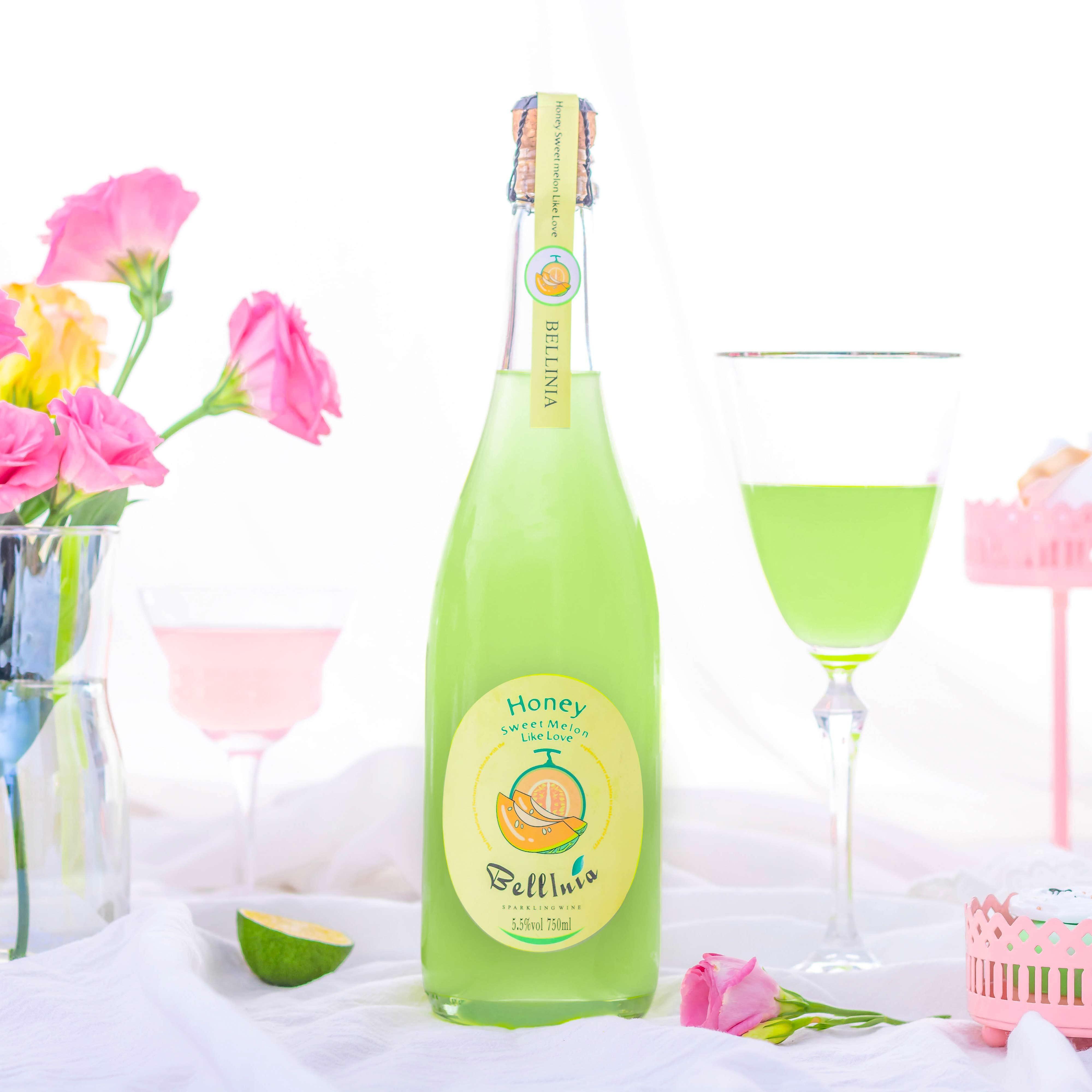 水果味甜酒桃子气泡起泡酒 Bellini 少女心蜜桃贝利尼 元 1 瓶 2 第 瓶 元 瓶 2  第