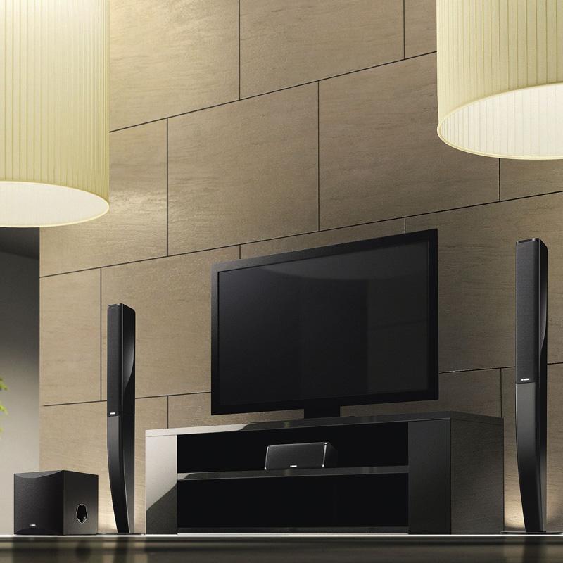 功放音响音箱套装 5.1 家庭影院 PA41 V385 RX 雅马哈 Yamaha 进口