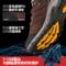 探路者登山鞋 秋冬季户外情侣男女防滑登耐磨徒步鞋KFAF91380T