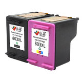 Shang Yi compatible HP 803XL black ink cartridge hp803 color deskjet2621 2622 2623 2628 1111 1112 2131 2132 printer even spray easy to add ink CISS