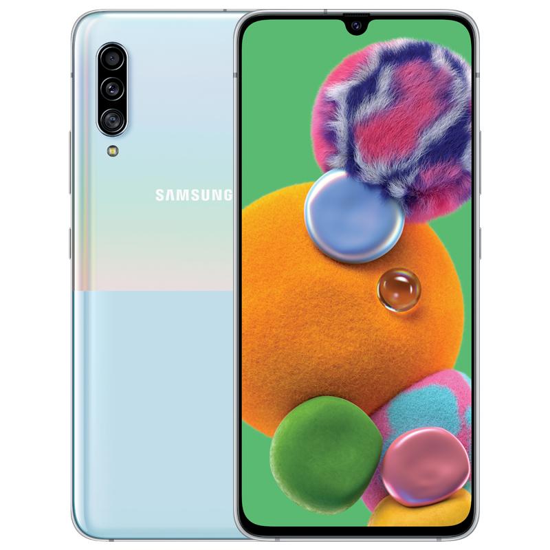 全网通官方旗舰智能手机 5G 游戏智能拍照 855 骁龙 A9080 SM 5G A90 Galaxy 三星 Samsung 新品预售享豪礼 5G