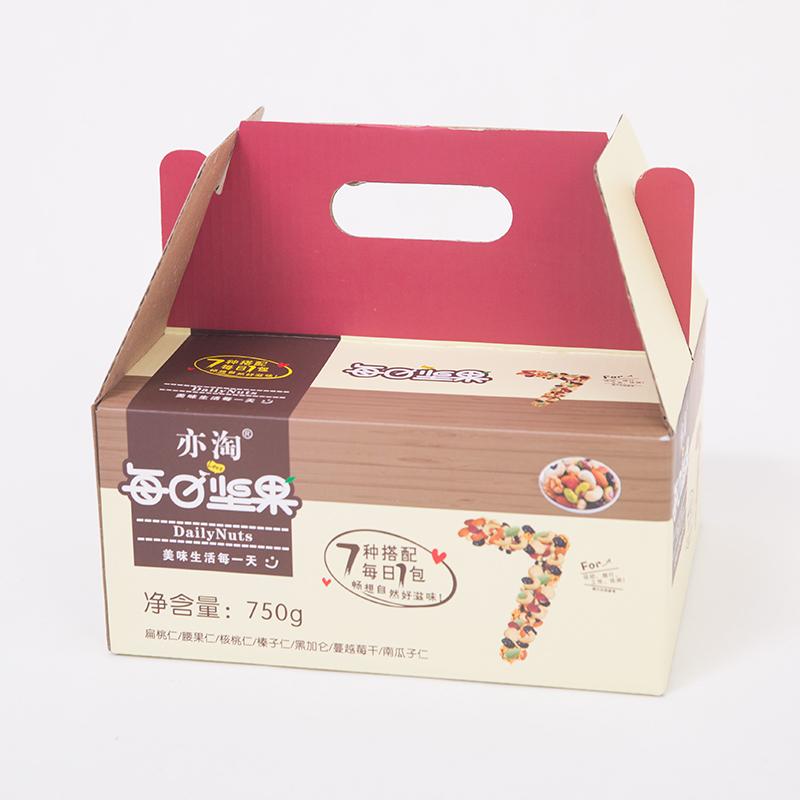 包干果零食组合装食品礼盒 30 混合坚果 750g 每日坚果大礼包孕妇儿童