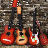 Children's guitar toy can play simulation mini ukulele musical instrument piano men and women baby music small guitar it