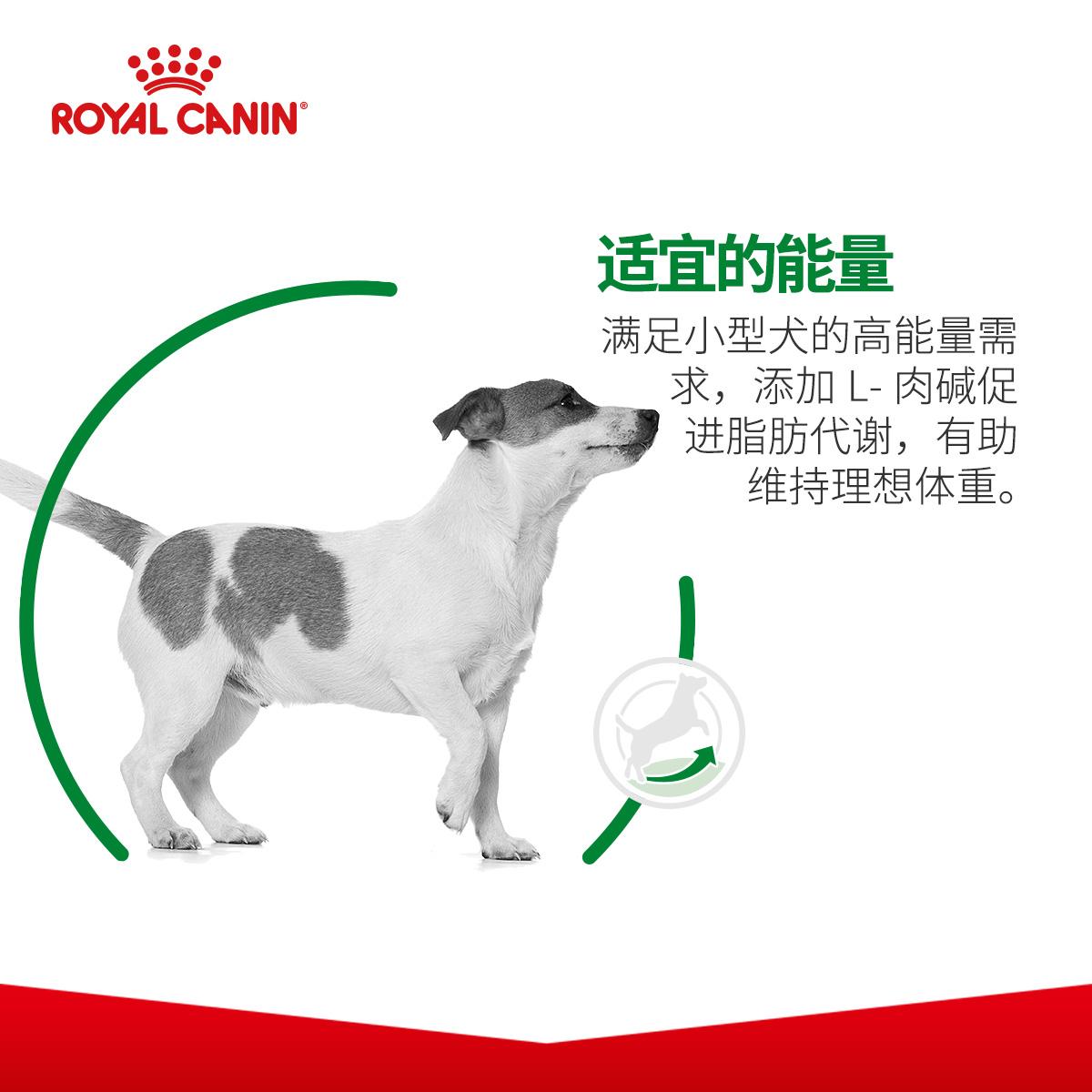 皇家狗粮PR27小型犬室内成犬泰迪博美贵宾比熊全犬通用成犬粮2kg优惠券