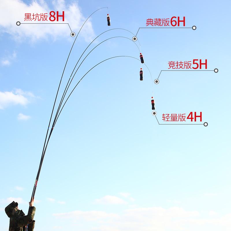 调鲤鱼杆鲫鱼台钓鱼竿 19 调碳素 28 米超轻超硬 5.4 新款手竿 2020 辰钓
