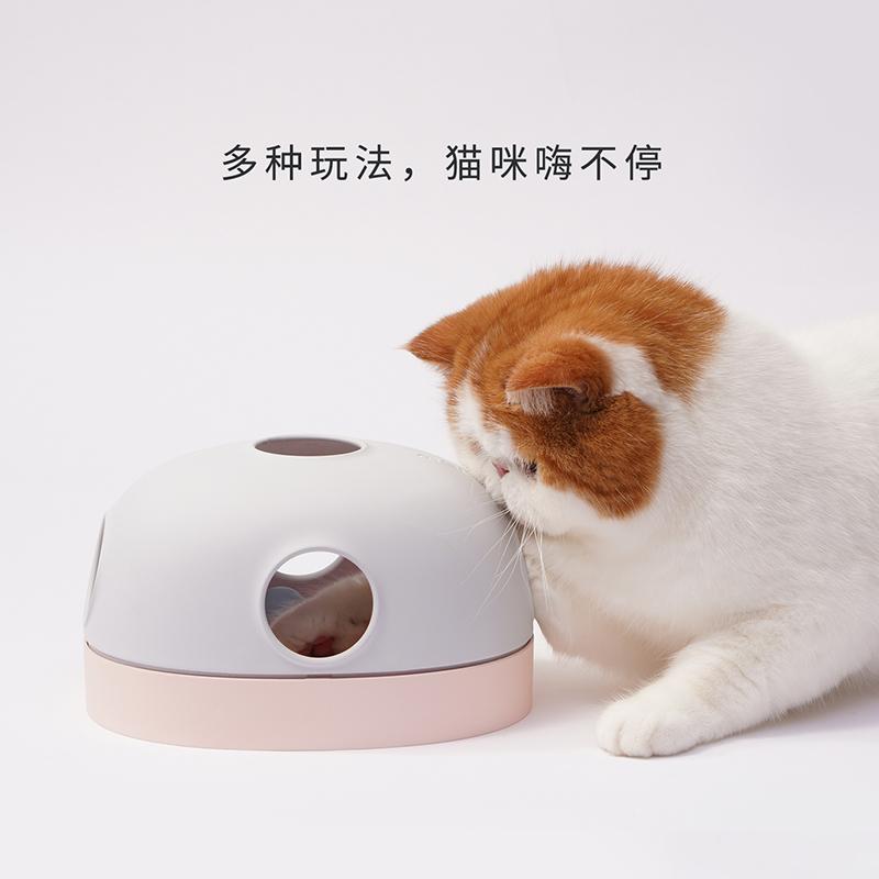 麻薯洞洞乐猫玩具自嗨解闷逗猫玩具转盘球