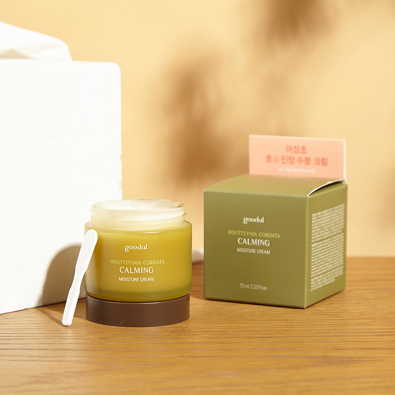 Pre-sale Hye Min! Korea Goodal Goodal Houttuynia Cordata Soothing Essence  Cream Set to refresh acne
